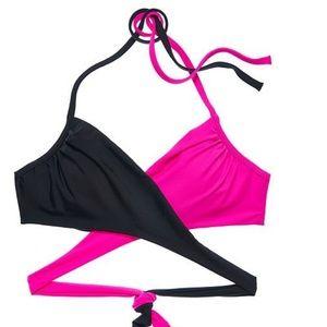 Victoria's Secret halter wrap bikini top
